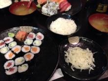 きのこ寿司食事